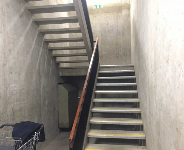Brunel University stair tower