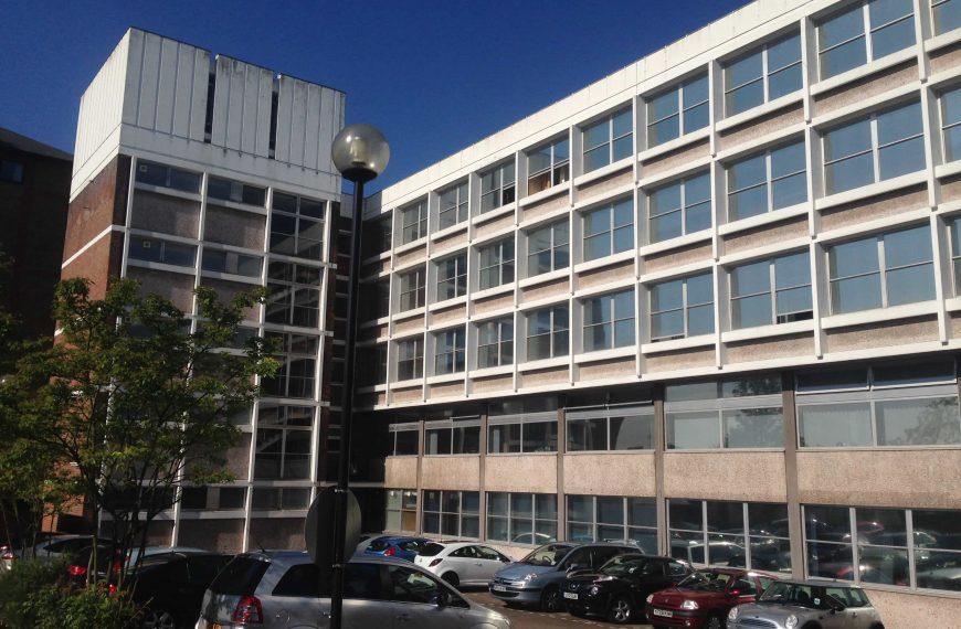 Elevation of Beauver House Job Centre