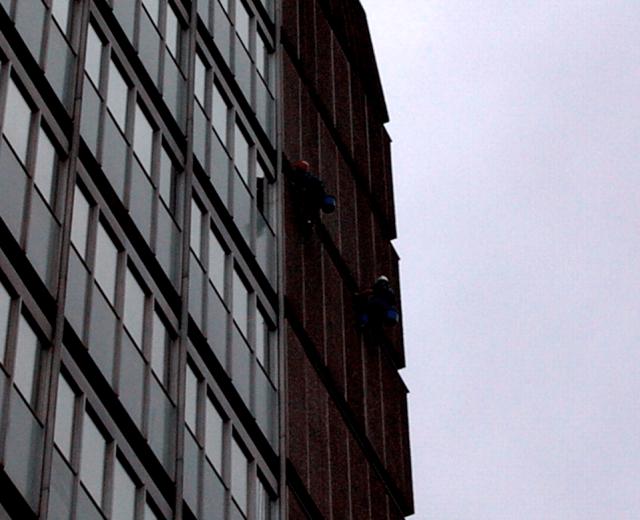 Elevation of BT Colombo House, London